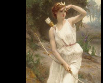 ギヨーム・セイニャク『女狩人アルテミス』